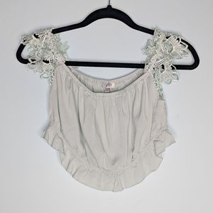 Tobi Bralette Lacy Top